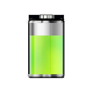 綠色電池圖標設計