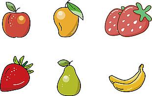 可愛水果插圖