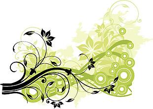 葉子 紋理 清新