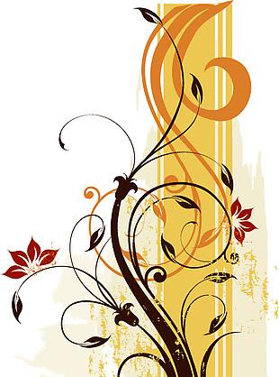 葉子 紋理 裝飾畫
