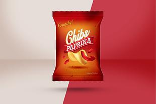 食品零食塑料包裝樣機