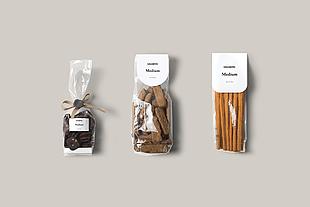食品塑料袋包裝樣機
