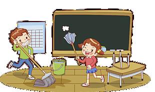 學生大掃除