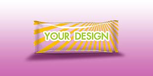 糖果條紋零食包裝樣機
