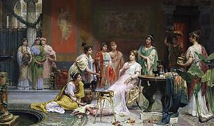 17-19世紀歐洲宮廷油畫圖