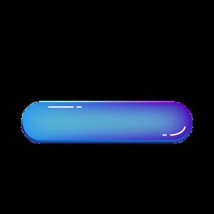 科技按鈕立體標題框