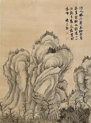 擬宋人筆意|楊青辭國畫選