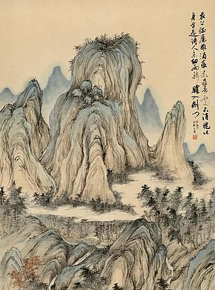 陸游詩意圖|楊青辭國畫選
