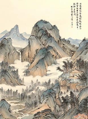 南屏草堂圖|楊青辭國畫選