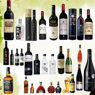 各類酒素材