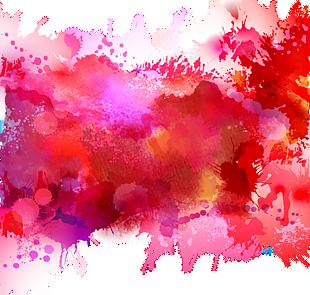 水彩涂鴉背景
