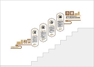 黨建樓梯文化墻