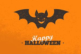 萬圣節蝙蝠恐怖背景