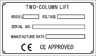 TWO-COLUMN LIFT